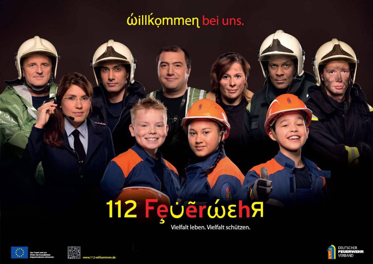 Kampagne des deutschen Feuerwehrverbandes