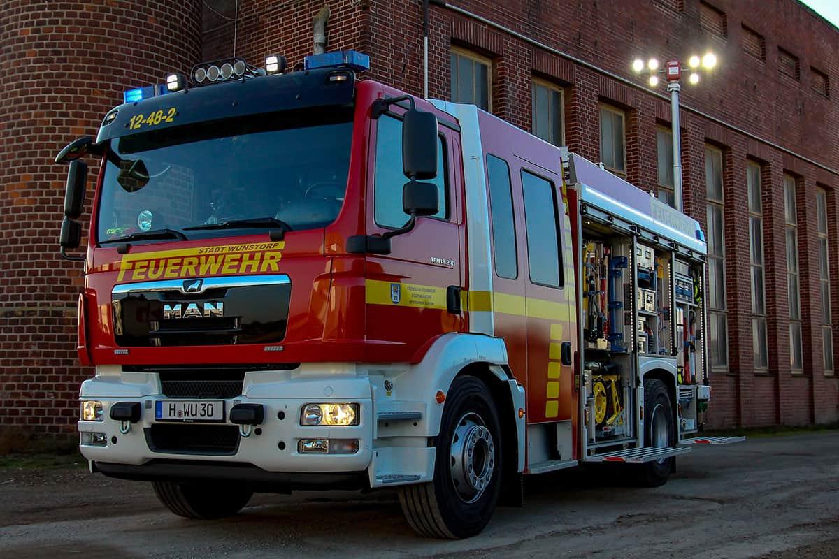 Hilfeleistungslöschgruppenfahrzeug Technische Hilfeleistung - Feuerwehr Wunstorf - offen