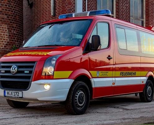 Mehrzweckwagen der Feuerwehr Wunstorf