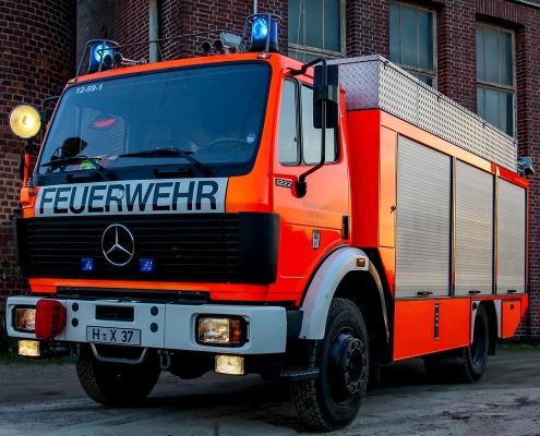 Rüstwagen der Feuerwehr Wunstorf