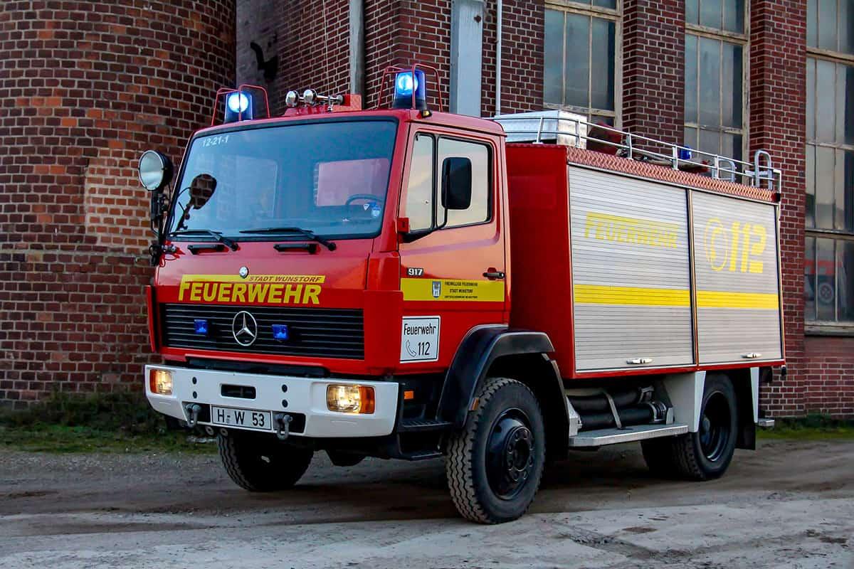 Tanklöschfahrzeug 8 der Feuerwehr Wunstorf