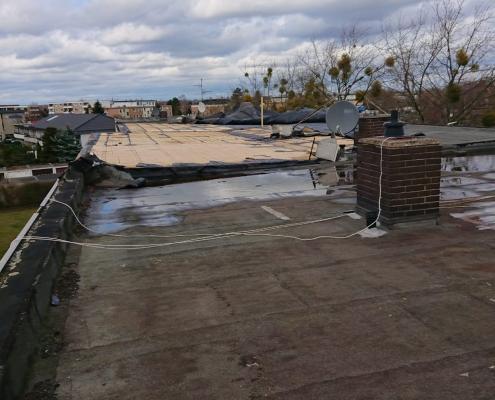 Sturmschaden 7.März 2019 Dach
