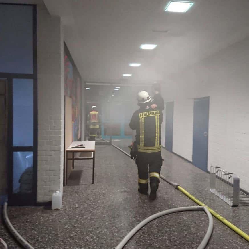 Übungsdienst Feuerwehr Wunstorf 25.2.2019