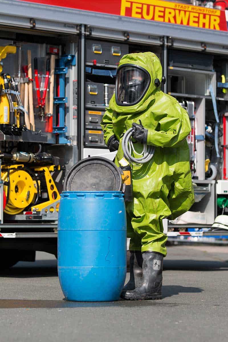 Chemikalienschutzanzug Schutzausruestung